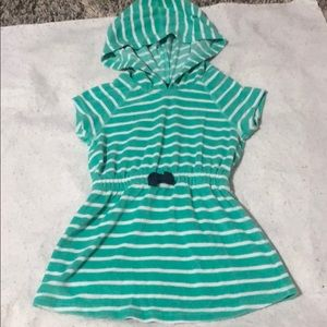 Hanna Andersson Terry Cloth Coverup size 3